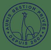 Macaron Auris Gestion - Depuis 2004 - Bleu@3x